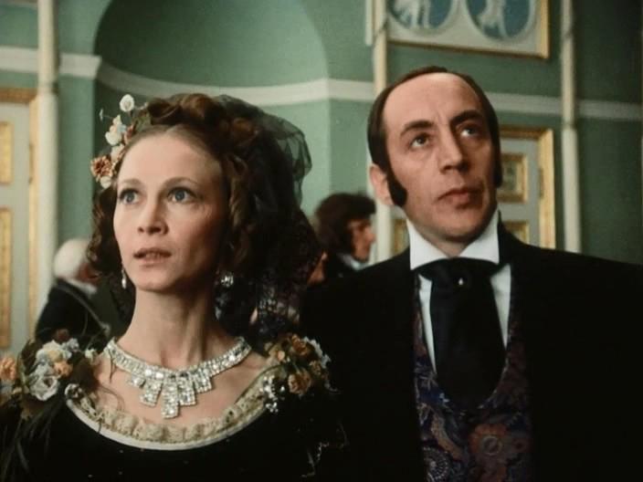 Oleg Shklovsky and Svetlana Smirnova in Uznik zamka If (1988)