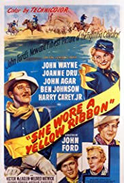 She Wore a Yellow Ribbon(1949) Poster - Movie Forum, Cast, Reviews