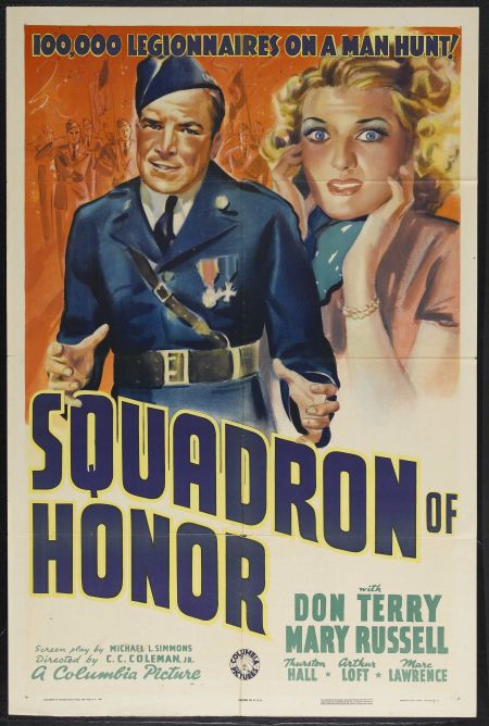 Mary Russell and Don Terry in Squadron of Honor (1938)