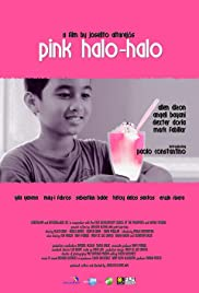 Pink Halo-Halo Poster