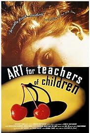 Art for Teachers of Children Poster