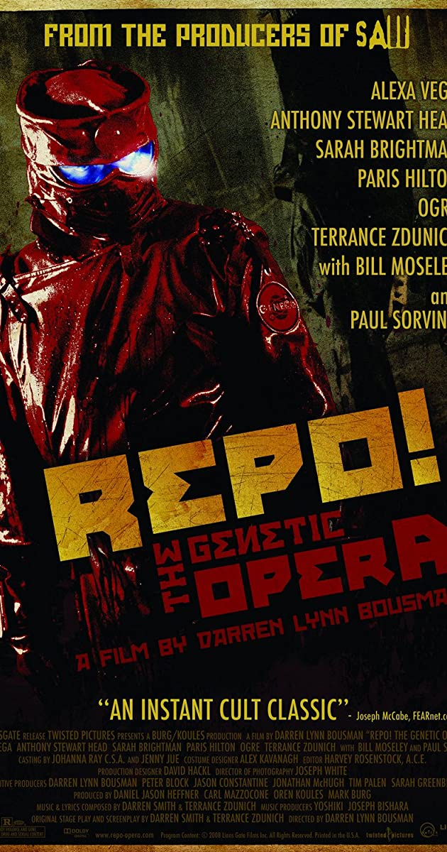 Repo! The Genetic Opera (2008) Subtitles