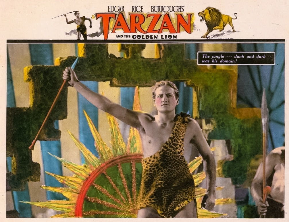 James Pierce in Tarzan and the Golden Lion (1927)