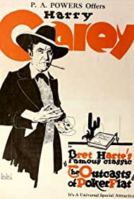 Harry Carey in The Outcasts of Poker Flat (1919)