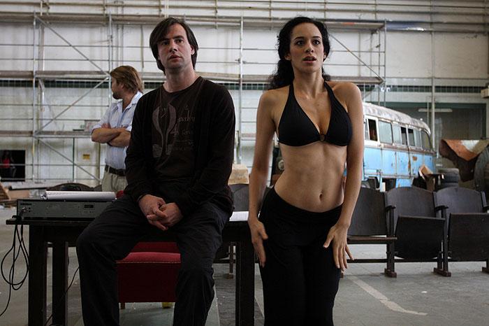 Csaba Pindroch and Lucia Brawley in Valami Amerika 2 (2008)