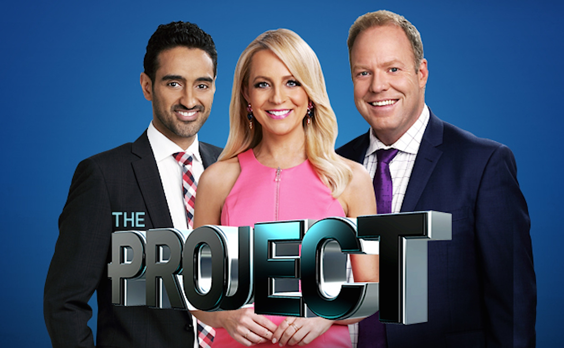 Carrie Bickmore in The 7PM Project (2009)