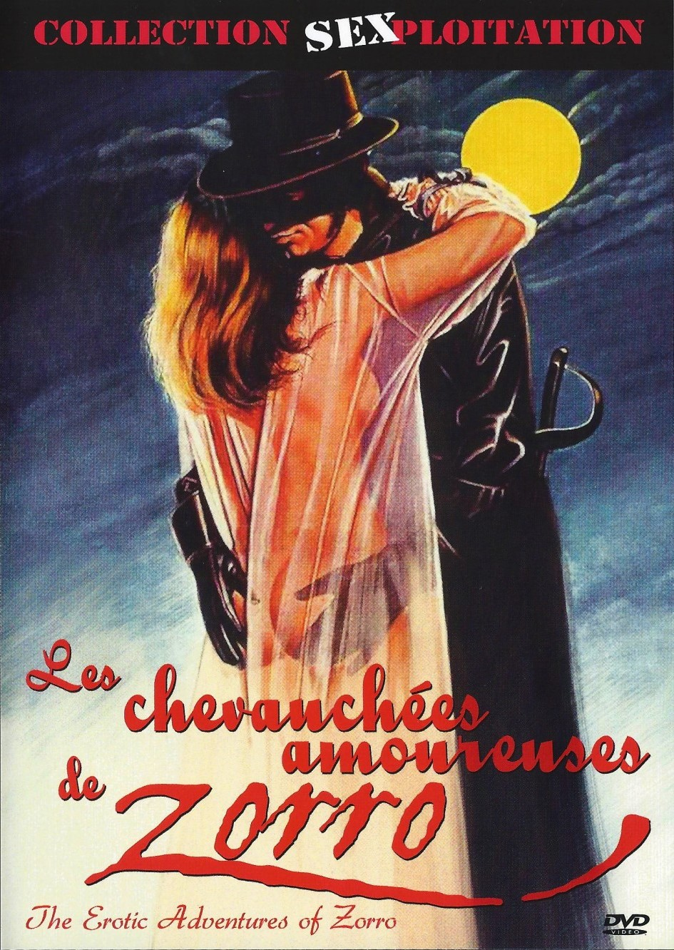 Erotic adventures of zorro wall poster by unknown