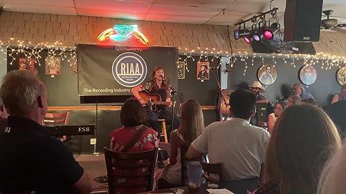 Performing at The Bluebird Cafe, Nashville, TN