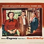 James Cagney, Phyllis Thaxter, and Gig Young in Come Fill the Cup (1951)