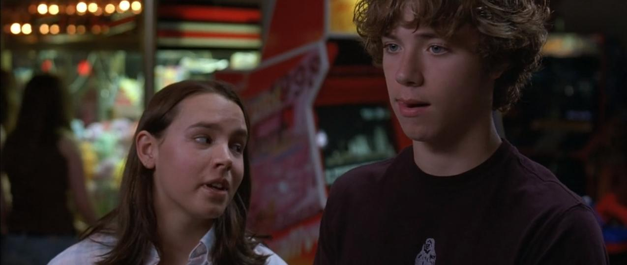 Jeremy Sumpter and Addie Land in The Sasquatch Gang (2006)