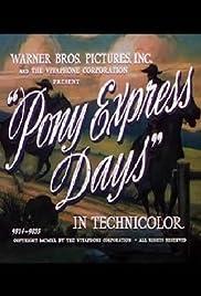 Pony Express Days Poster