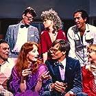 Jørn Faurschou, Poul Glargaard, Inger Hovman, Berrit Kvorning, Finn Nielsen, Ulf Pilgaard, and Karin Wedel in D*A*S*K (1981)