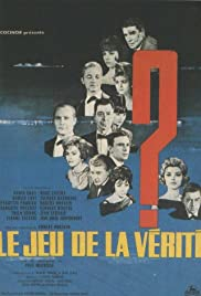 Le jeu de la vérité (1961) Poster - Movie Forum, Cast, Reviews