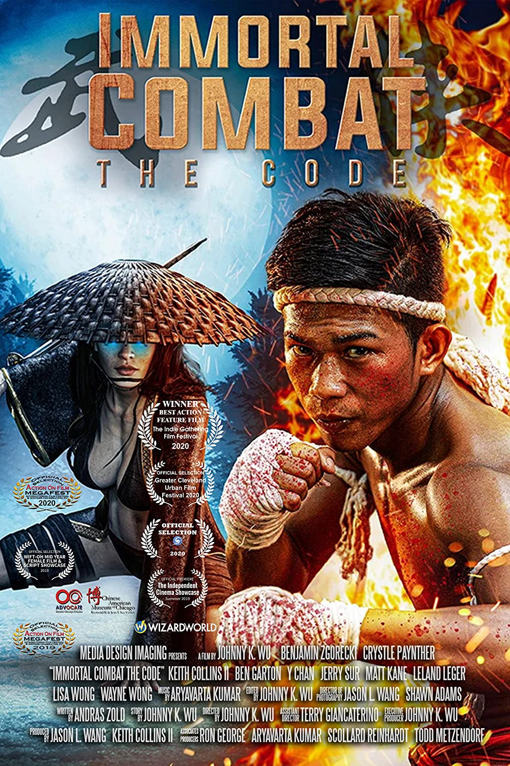Immortal Combat The Code 2019 Hindi Dual Audio 720p HDRip ESubs 900MB x264 AAC
