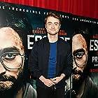 Daniel Radcliffe at an event for Escape from Pretoria (2020)