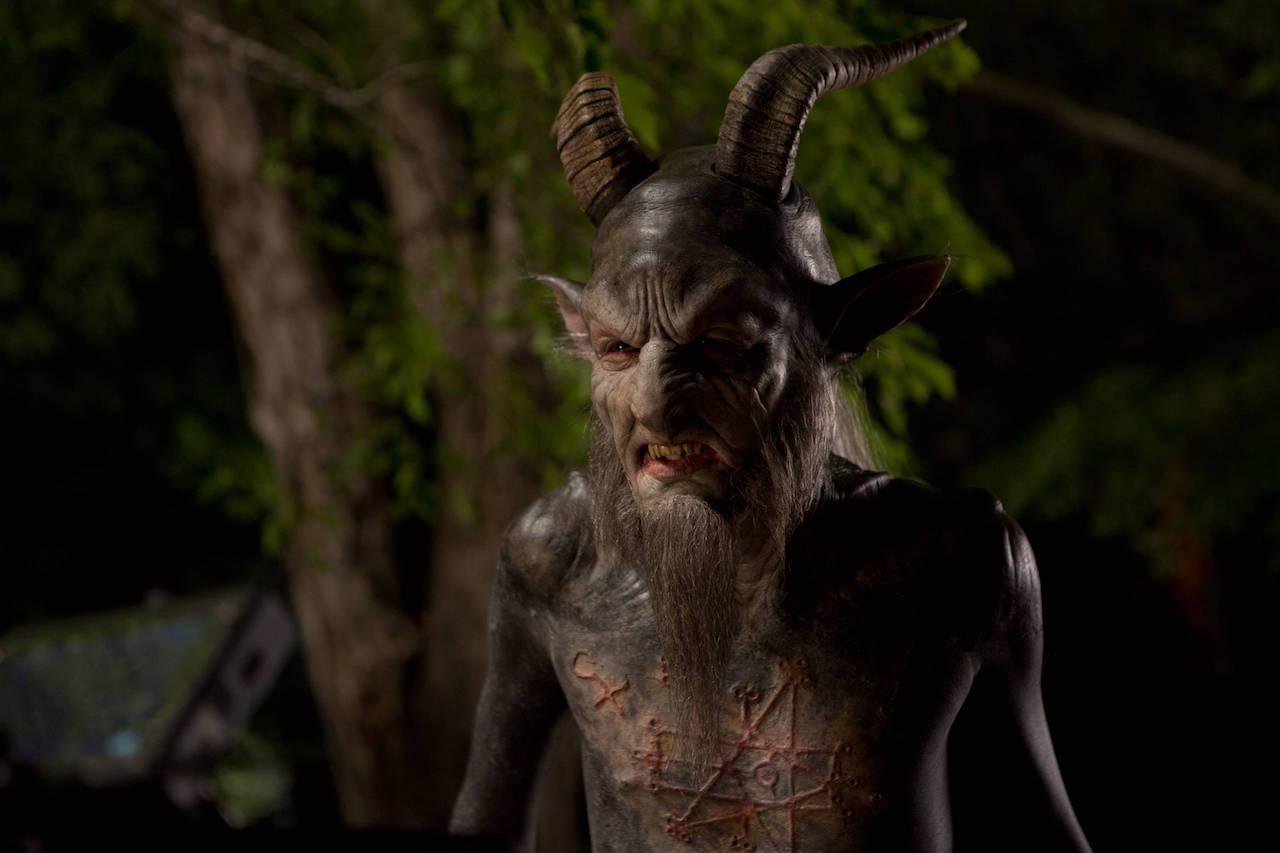 Mick Ignis as The Baphomet in 'Stan Against Evil'