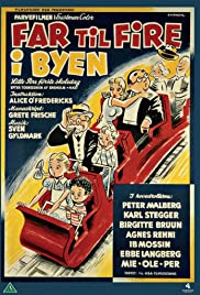 Far til fire i byen (1956) Poster - Movie Forum, Cast, Reviews