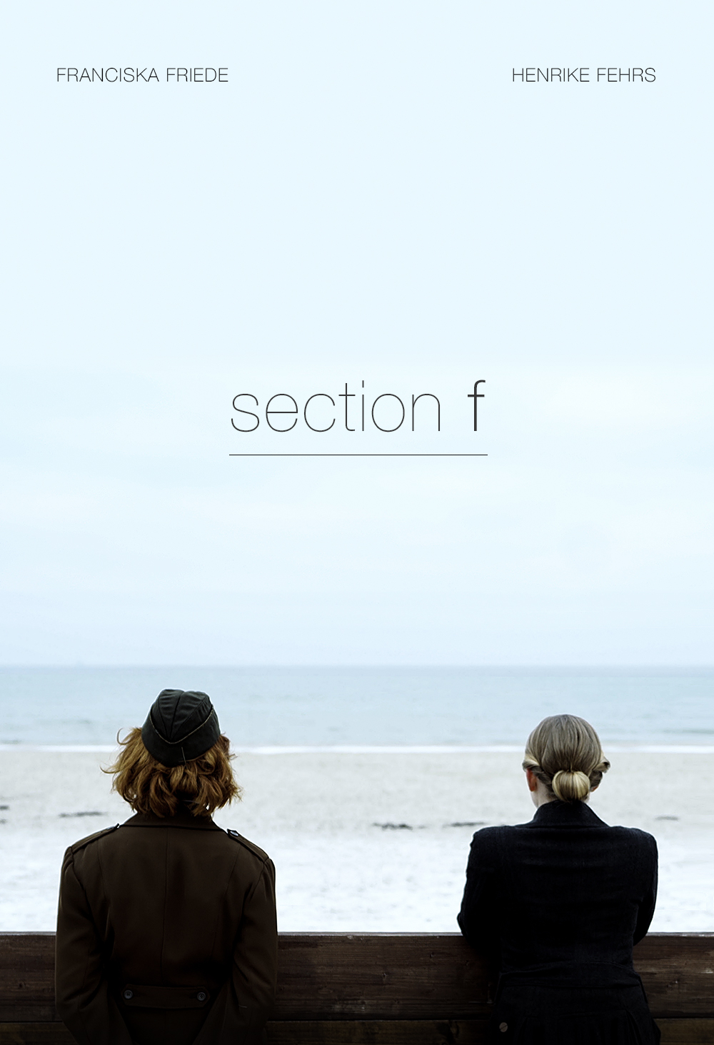 Henrike Fehrs and Franciska Friede in Section F (2019)