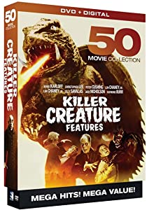 Killer Creature Features: 50 Movie Mega Pack full movie download in hindi hd