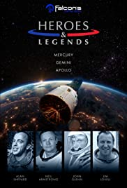 Heroes and Legends Featuring the U.S. Astronaut Hall of Fame Poster