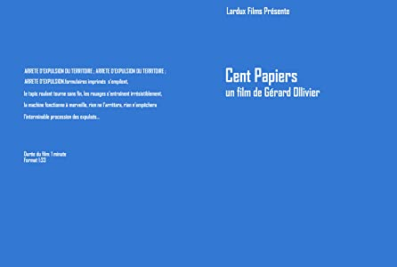 English movies dvdrip watch online Cent papiers France [720x576]