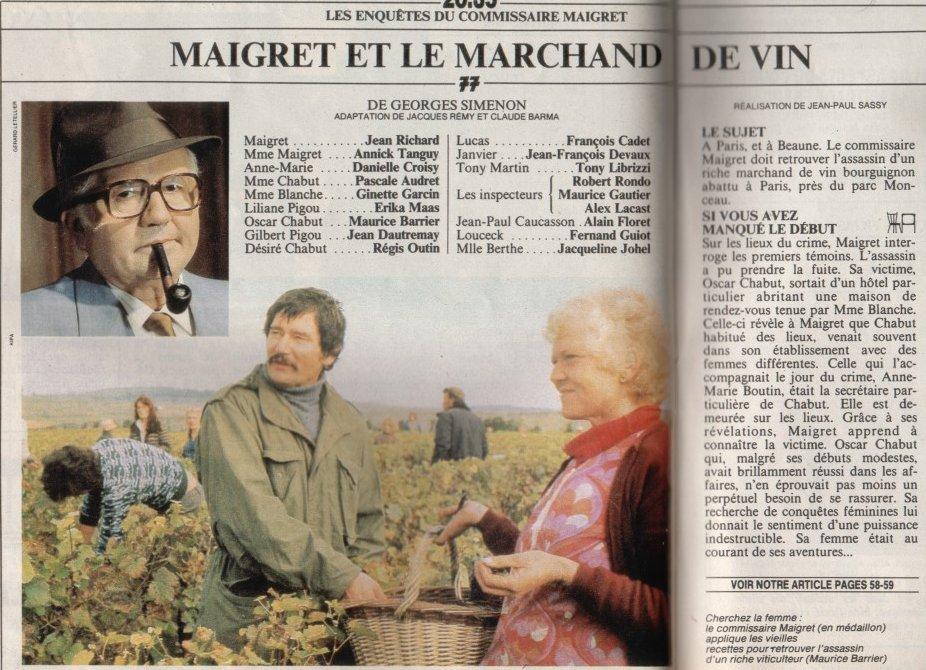 Maigret et le marchand de vin (1978)