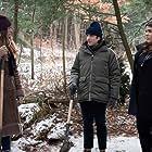 Morgan Krantz, Perry Mattfeld, and Brooke Markham in Bad People (2020)