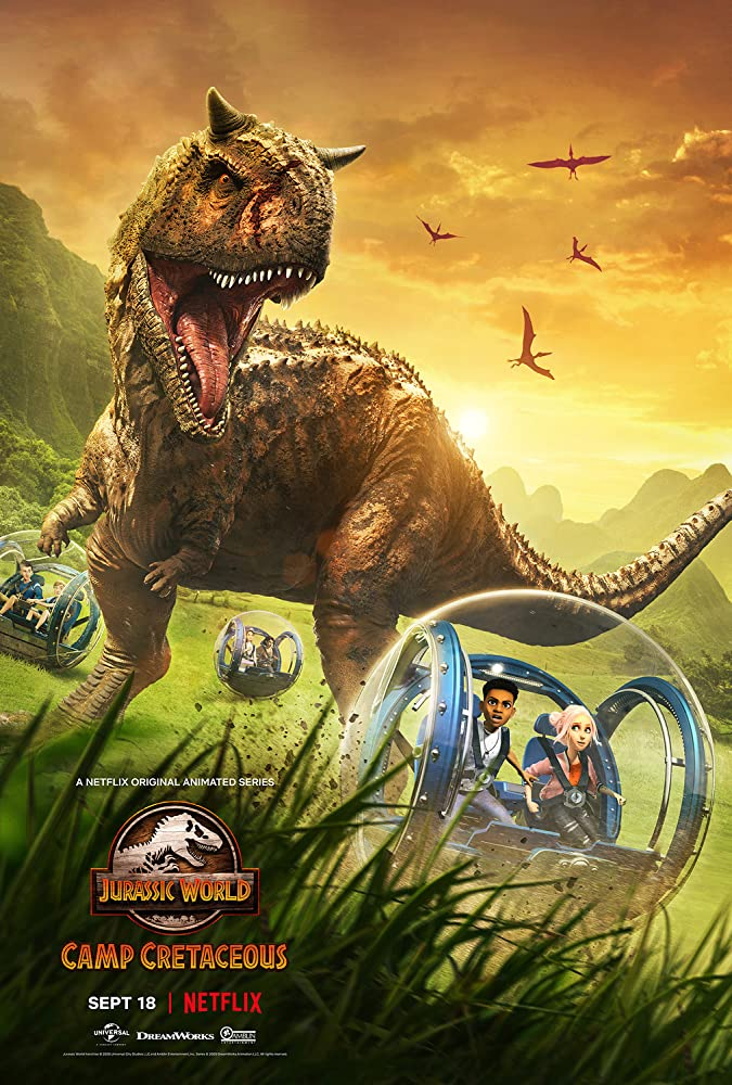 Jurassic World Camp Cretaceous S01 (2020) Hindi Netflix Complete Web Series 720p HDRip 1.3GB