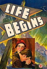 Life Begins(1932) Poster - Movie Forum, Cast, Reviews