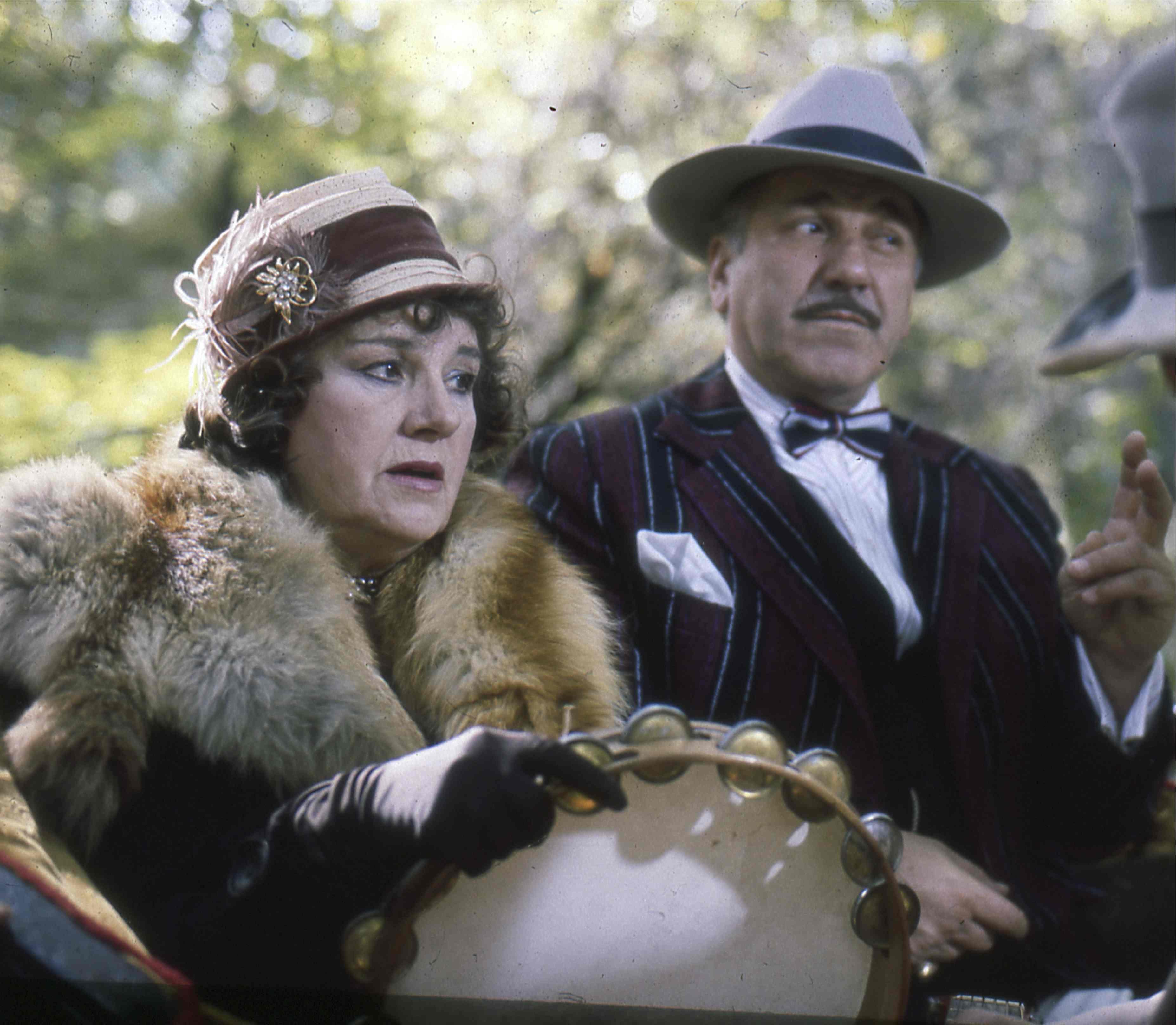 Olivera Markovic and Velimir 'Bata' Zivojinovic in Balkan ekspres 2 (1989)
