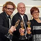Donald Graham Burt, Erik Messerschmidt, and Jan Pascale at an event for The 93rd Oscars (2021)