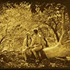 White Parker and Esther LeBarre in The Daughter of Dawn (1920)