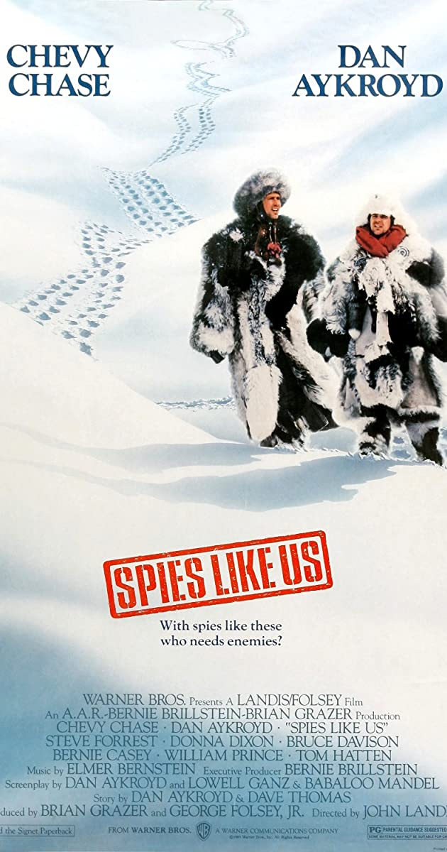 Subtitle of Spies Like Us