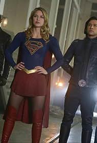 David Harewood, Jesse Rath, Melissa Benoist, and Nicole Maines in Supergirl (2015)