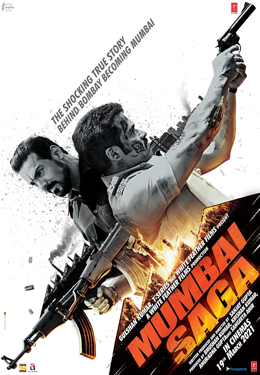 Mumbai Saga 2021 Hindi 400MB HQ PreDVDRip Download