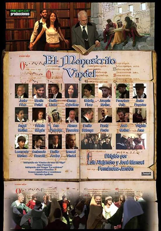Natalia Fisac, Emma Caballero, Emilio Balonga, Natalia Lago, Daniel Castillo, Valeria Magán, and Vicente Aguilera in El manuscrito Vindel (2016)