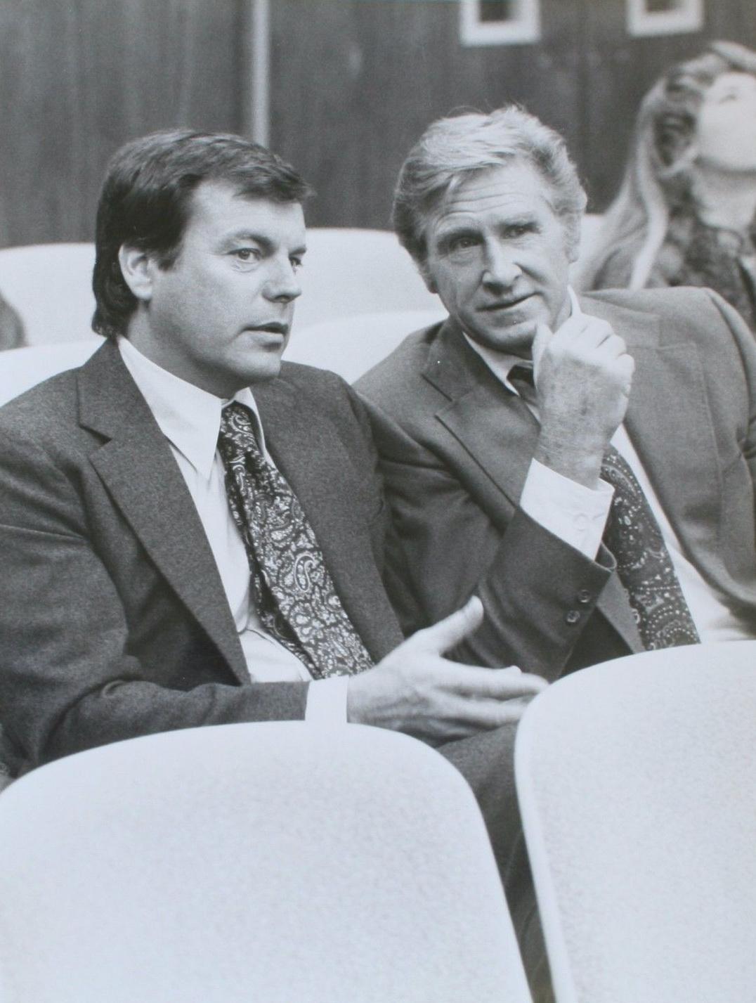 Lloyd Bridges and Robert Wagner in The Critical List (1978)