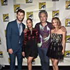 Natalie Portman, Taika Waititi, Chris Hemsworth, and Tessa Thompson at an event for Thor: Love and Thunder (2022)