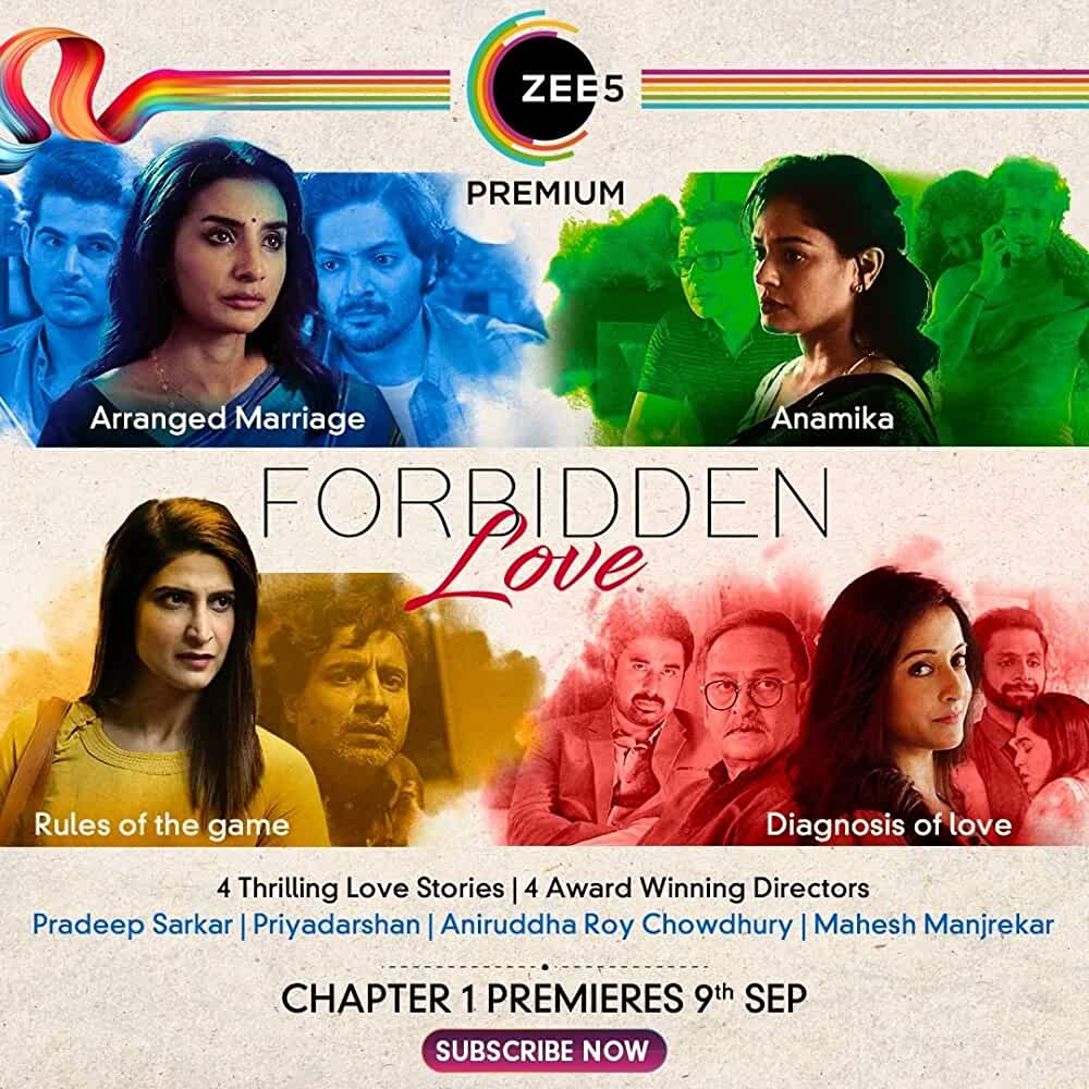 Forbidden Love (2020) Hindi Season 1 Zee5 WEB-DL x264 AAC