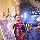 Bao Thanh at an event for Doi Mat Am Duong (2020)