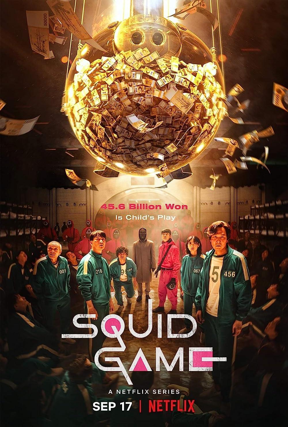 Squid Game 2021 S01 Hindi Dubbed NF Original Complete Web Series 720p | 480p HDRip 3.3GB Download