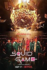Lee Jung-jae, Anupam Tripathi, Oh Yeong-su, Heo Sung-tae, Park Hae-soo, Jung Hoyeon, and Wi Ha-Joon in Squid Game (2021)