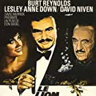 David Niven, Burt Reynolds, and Lesley-Anne Down in Rough Cut (1980)