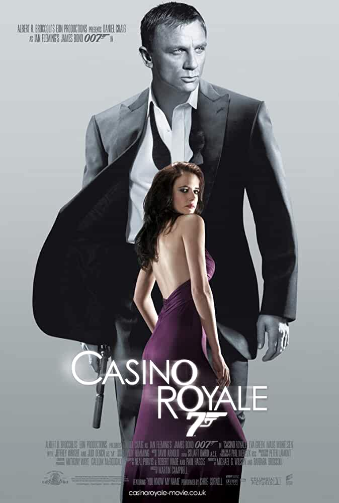 Eva green casino royale poster
