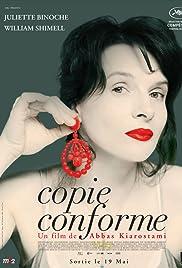 Copie conforme (2010) film en francais gratuit