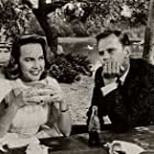 Terry Moore and Dick Sargent in Bernardine (1957)