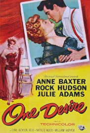 One Desire (1955) Poster - Movie Forum, Cast, Reviews