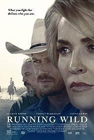 Sharon Stone, Tommy Flanagan, and Jason Lewis in Running Wild (2017)