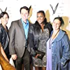 Lauren Patrice Nadler, Mark Terry, Cherrae L. Stuart, and Raven Tryon at an event for Protocol: New Orleans (2016)