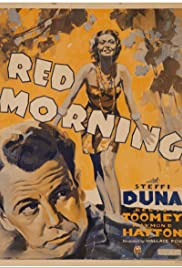 Red Morning Poster